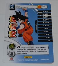 DragonBall Z CCG Goku P2 Promo Card - SDCC 2014 Comic Con Exclusive