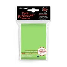 50 Ultra Pro Solid LIME GREEN Deck Protector CCG MTG Pokemon Gaming Card Sleeves