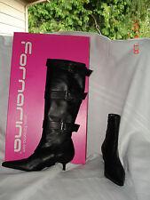 Fornarina   convertable black boots size 38 NWBOX