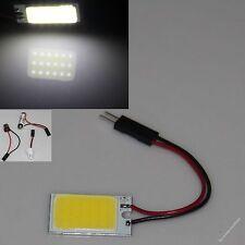 White 18 chips Cob Led Dome Light Panel Interior Bulb Lamp T10&Festoon&Ba9S 12V