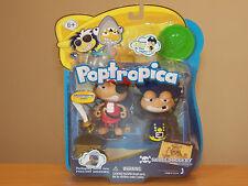 "Poptropica 3"" Figure Doll Toy Set- Skullduggery Island Pirate #13114 *BRAND NEW*"