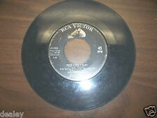 ELVIS PRESLEY, RCA VICTOR, 45 RPM, 47-7968, CAN'T HELP FALLING, ROCK-A-HULA BABY