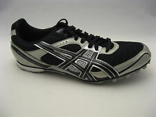 ASICS Mens Hyper MD 4 Track & Field Shoes 13 Black Onyx Silver G101N Spikes NEW