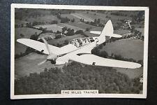 MILES TRAINER   RAF Inter-War Period   # 1930's Vintage Photo Card