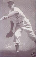 ALEX KELLNER 1947-1966 EXHIBIT CARD