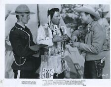 ROY ROGERS KING OF THE COWBOYS & TRIGGER NORTH OF THE GREAT DIVIDE  ORIG X4994