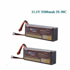 2x 11.1V 5200mAh 3S 30C LiPo Battery For RC Car Truck Helicopter Airplane Frame