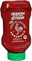 Sriracha Hot Chili Sauce Ketchup 1- 20oz. Bottle Squeeze Top