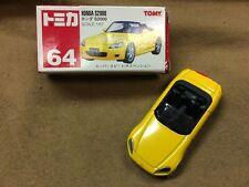TOMY,TOMICA NO 64 Honda S2000 1/57 die cast yellow car, NIB