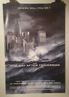 The day after tomorrow Original Cinema movie poster one sheet size A