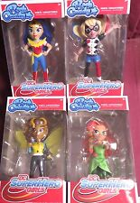 "NEW FUNKO POP ROCK CANDY, ""DC SUPER HERO GIRLS"", SET OF ALL 4, HARLEY, ETC"