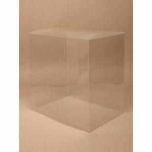 12 x Clear Plastic Fascinator/ Tiara Box Display Presentation - Assorted Sizes