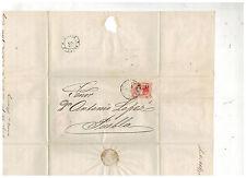 1873 Gutierrez y Del Rio Mexico Cover to Puebla Dr Antonio Lopez 4