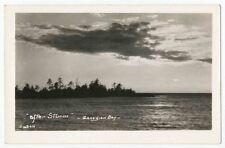 """After the Storm"" Georgian Bay, Lake Huron, Ontario RPPC"