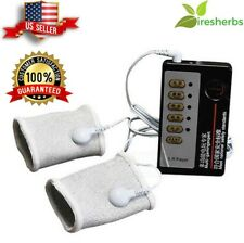 ELECTRO SHOCK MASSAGE PENIS RING WITH HOST & CABLE THERAPY SLEEVE MASSAGERS MENS