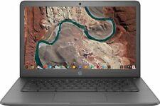 HP 14-ca000nr 14 inch (32GB, Intel Celeron N, 1.10GHz, 4GB) - Chromebook - Gray - 7ZU92UAABA