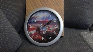 Saratoga America's Racetrack round wall clock