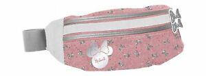Kinder Damen Gürteltasche Hüft Bauch Tasche Freiziet Minnie Mouse Mädchen Rosa
