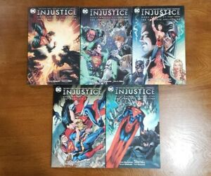 INJUSTICE Vol. / Year 1 2 3 4 5 Complete Collection SET TPB GN NEW DC Tom Taylor
