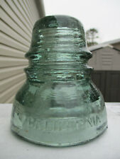New ListingSuperb Sage Green Cd 152 California Glass Insulator