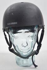 SALOMON BRIGADE AUDIO HELMET $90 M black matte USED freestyle shape snowboarding