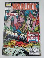 WARLOCK #5 (1992) SPECIAL EDITION MARVEL COMICS THANOS! AVENGERS JIM STARLIN ART