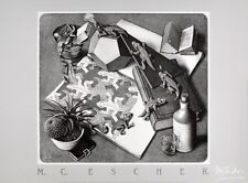 MC Escher Reptilien Poster Kunstdruck Bild 50x70cm