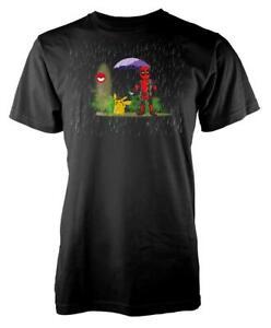 Deadpool Pichu Mashup Adult T Shirt
