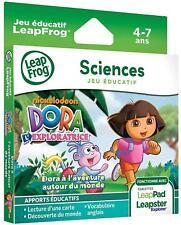 Leapfrog - 89018 - Jeu Educatif Electronique - LeapPad / LeapPad 2 /  Jeu Dora