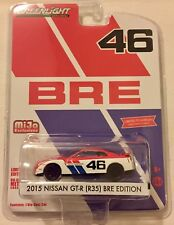 GREENLIGHT 1:64 NISSAN GT-R 35 BRE RACING MIJO EXCLUSIVE
