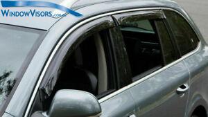 Window Visors Weather Shields weathershields for Skoda Superb Sedan B6 2008-2015