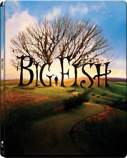 Big Fish - Limited Edition Steelbook Blu-Ray Ewan McGregor, Albert Finney, New!