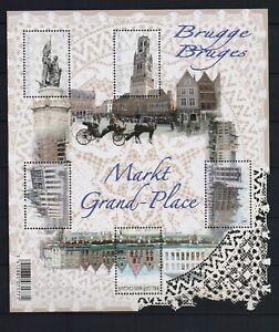 BELGIUM 2012 BRUGES LACE M/S MNH** blok 203