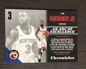 2017-18 Chronicles TIM HARDAWAY JR. #65 Red SP/299 Dallas Mavericks