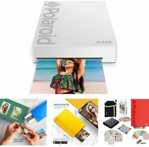 📸🎁 Zink Polaroid Mint Pocket Printer Digital Camera Photo Paper Sheets Bundle