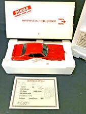 DANBURY MINT 1969 PONTIAC GTO JUDGE..1:24..NOS..DOCS..UNDISPLAYED