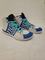 Reebok Crossfit Lite High TR 010 Women's White Blue Size 9 Training Shoes