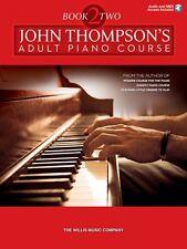 John Thompson's Adult Piano Course Book 2 Intermediate Level Audio and 000122300