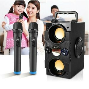 30W Multifunctional Portable Bluetooth Wireless Outdoor Subwoofer Boombox NEW