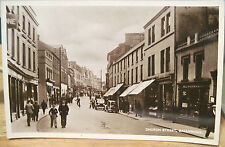 Irish Rppc Postcard Church Street Ballymena Antrim Northern Ireland M&L Photo