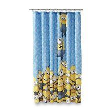 Universal Studios Minion Mayhem Microfiber Shower Curtain 72 Inch By 183cm X