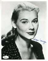 Hope Lange Jsa Coa Hand Signed 8x10 Photo Autograph Authentic