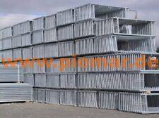 10 Stahlrahmen Gerüst Fassadengerüst Gerüstbau Typ Plettac SL70 Mallergerüst NEU