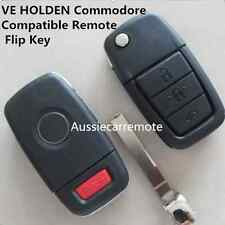 VE HOLDEN Commodore Compatible Remote Flip Key Shell with 3 button with 1 panic