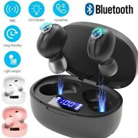 IPX7 Bluetooth 5.0 Headset TWS Wireless Earphones Mini Earbuds Stereo Headphones