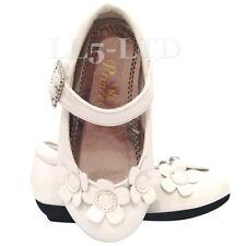 Chaussures blanches pour fille de 2 à 16 ans, pointure 36