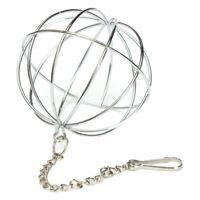 Hanging Ball Toy Sphere Treat For Guinea Pig Hamster Rat Rabbit Feed Dispen P9D7