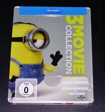 Minions 3 Película Colección Limitada Steelbook Edición Blu-ray