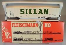 Fleischmann H0 1477 gedeckter Güterwagen Sillan 2-achsig der DB OVP #4090