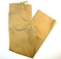 J. Crew City Fit Tan Broken In Chino Pants Size 0 30x27""